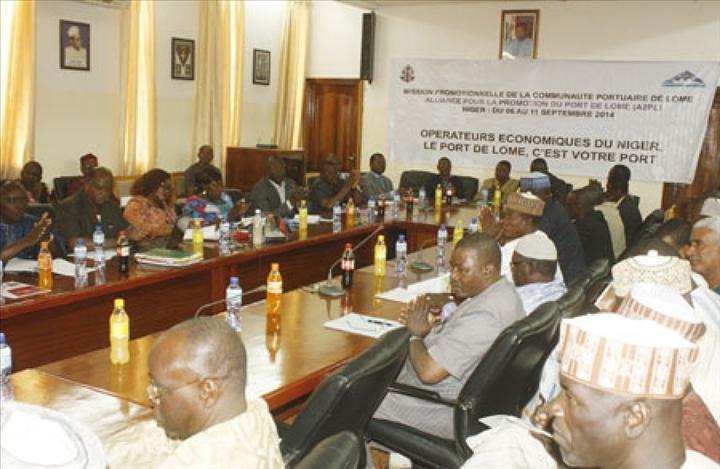 Rencontre entre les op rateurs conomiques du niger et les for Chambre de commerce du niger