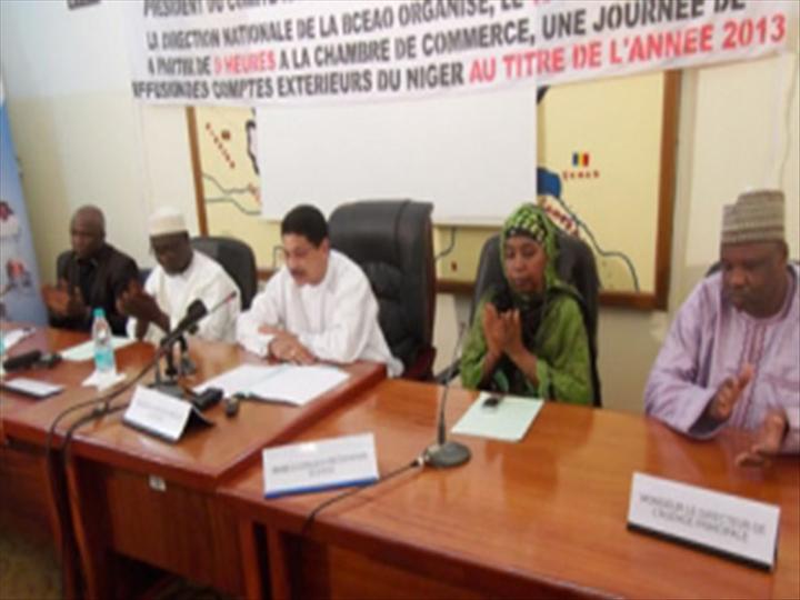 Journ e annuelle de diffusion des comptes ext rieurs du for Chambre de commerce du niger