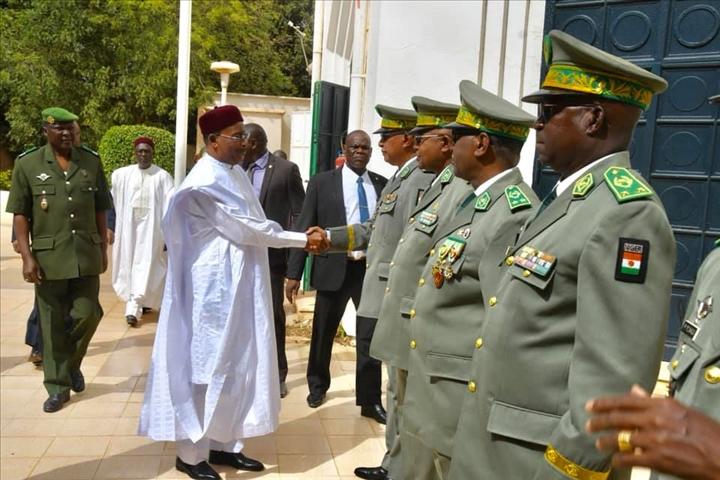 """Résultat de recherche d'images pour """"Niger, président, sécurité, forces armées, niger, 2019"""""""